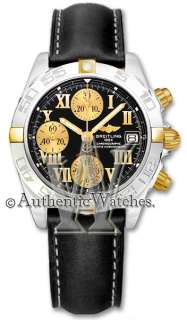 AUTHENTIC NEW BREITLING WINDRIDER CHRONO GALACTIC MENS WATCH