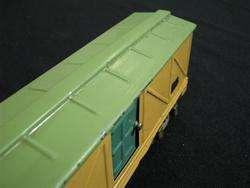 Flyer 4 Piece Train Set w/ Orange Log Car, Caboose, Track Ect.