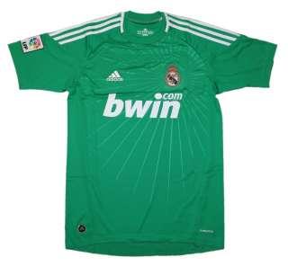 Adidas Real Madrid Torwarttrikot GK Home Jersey grün Torwart Trikot