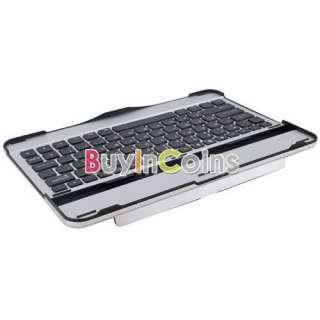 Bluetooth Keyboard Aluminum Case for Samsung Galaxy Tab10.1 P1000