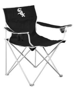 Chicago White Sox MLB Licensed Deluxe Tailgate Folding Lawn Chair Seat