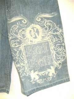 Karl Kani 045 Short kurze Jeans Hose 32 NEU IND ENZ WASH Hip Hop