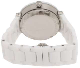 Fossil   Ladies Crystal White Ceramic Bracelet Watch