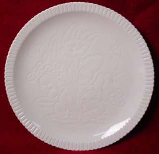 SYRACUSE china SHELLEDGE FLORAL White DINNER PLATE