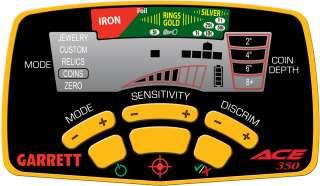 Garrett Ace 350 Metal Detector New Model
