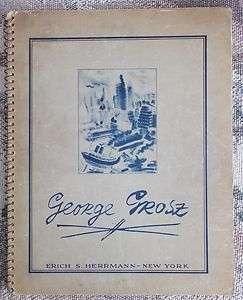 GEORGE GROSZ 1944 30 Drawings Water Color Art Artists