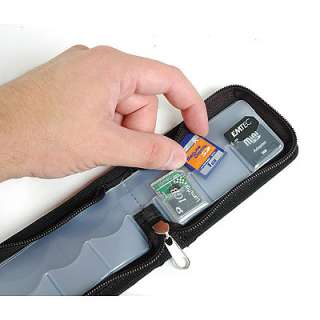 Link Depot Memory Card Carrying Case Black LD MCHOLDER