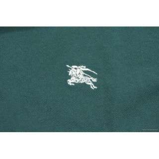 BURBERRY BRIT Men Classic Check Polo Shirt Racing Green size XXL NEW