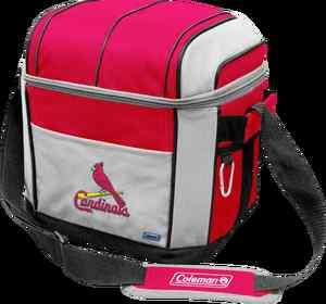 ST. LOUIS CARDINALS ~ Coleman 24 Pack Soft Sided Insulated Cooler Bag
