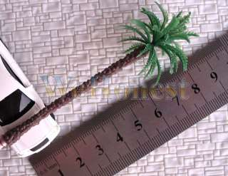 40 pcs HO or OO scale Coconut Palm Trees 90mm #M004