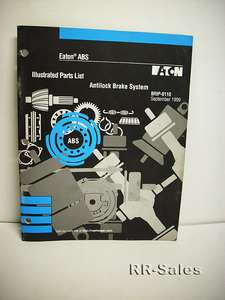 Eaton Anti Lock Brake System Illustrated Parts List