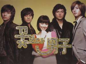 Korean Boys Over Flowers POSTER