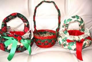 CHRISTMAS HOLIDAY TABLE DECOR/ GIFT BASKETS
