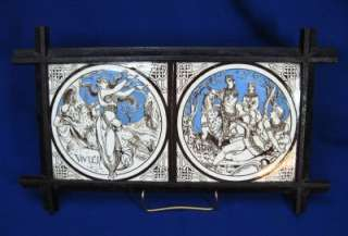 IDYLLS OF KINGS SERIES BY JOHN MOYR SMITH IN CAST IRON FRAME