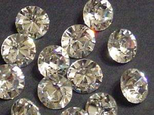 12pc 47ss CRYSTAL POINTED BACK swarovski rhinestone