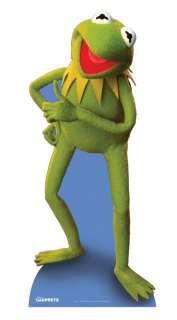 KERMIT THE FROG LIFESIZE CARDBOARD CUTOUT STANDEE STANDUP muppets