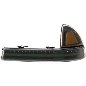 Anzo USA 511059 Dodge Dakota/Durango Black with Amber Reflectors