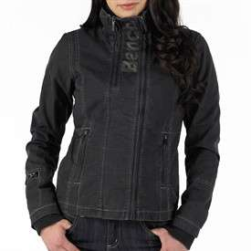 Bench Womens Sarah 2 Cross Zip Jacket Black