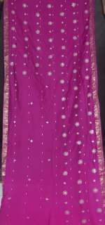 BOLLYWOOD INDIEN SARI SAREE ROBE KAFTAN VENTRE DANSE NW