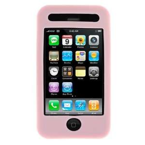 PINK Soft feel Jelly Silicone Skin Case Cover for Cingular