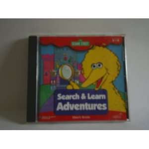 SESAME STREET SEARCH & LEARN ADVENTURES (CD ROM