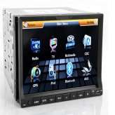 AUTORADIO 2 DIN 7 POLLICI TOUCHSCREEN DUAL ZONE 3D NAVIGATORE GPS