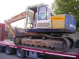 Escavatore cingolato usato KOMATSU PC 150 5 a Pisa    Annunci