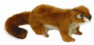 Hansa Cute Brown Stoat Soft Plush Toy 4843