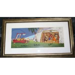 Hanna Barbera Flintstones Animation Cel ~ Ann Margrock