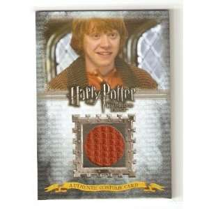HARRY POTTER HBPU Costume Card   Ron Weasley C2