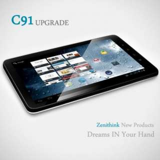 TABLET 10 ZT 281 C91 CAPACITIVO 8GB 512Mb ANDROID 2.3 YOUTUBE SKYPE