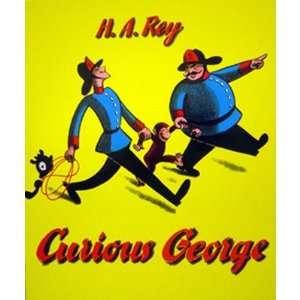 Houghton Mifflin HO 395698030 Curious George Big Book