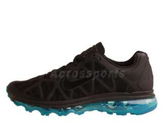 Nike Wmns Air Max 2011 Black Neo Turq Womens Top Running Shoes 360