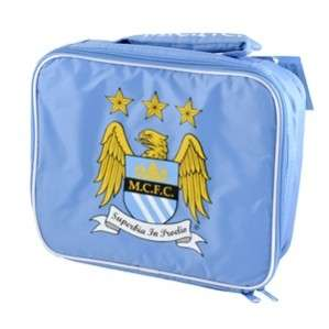 Manchester City OFFICIAL Insulated School Lunch Bag Box