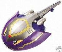 Power Rangers Ninja Storm NAVY THUNDER ZORD MORPHIN!!
