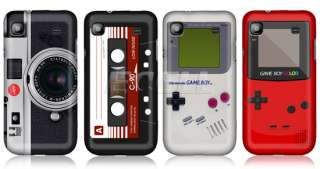 Nintendo Game Boy Series Hard Back Case Cover for Samsung I9000 Galaxy