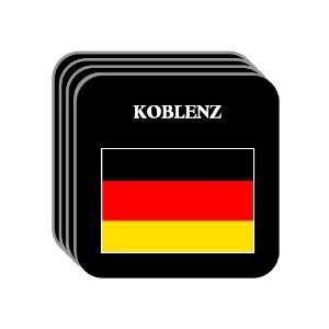 Germany   KOBLENZ Set of 4 Mini Mousepad Coasters