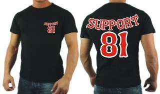 1026 Support 81 World Hells Angels T  Shirt S   6XL