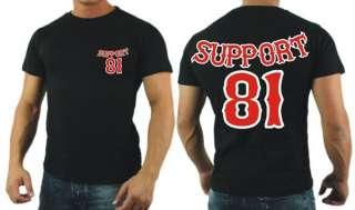 1026 Support 81 World Hells Angels T  Shirt S   6XL