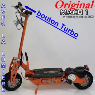 Mach1 Modèle 1300 Turbo Trotinette électrique E Scooter Pocket Bike