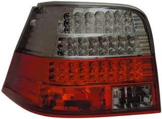 Fanali fari posteriori LED VW Golf 4 rosso fume