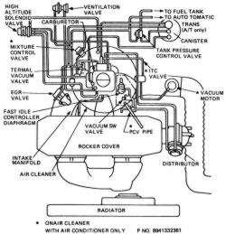 edelbrock 1405 vacuum diagram