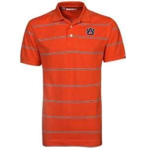 NCAA Cutter & Buck Auburn Tigers Orange Cullen Pique