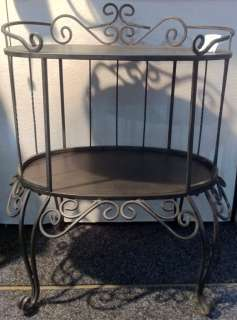 NEW Metal Bedside Lamp Side TABLE French Shabby Country