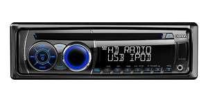 CZ401 CD Player w/ USB 4volt RCA HD Radio Tuner 729218018972