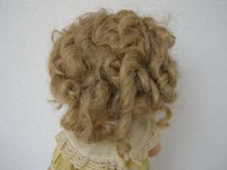 Shirley Temple 16 Ideal Composition Doll with Original Yellow Dress