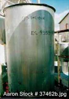 USED Sani Tank, 300 gallon, stainless steel, vertical.