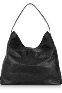 Alexander McQueen Skull stamped leather shoulder bag   55% Off Now at