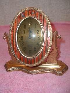 Antique 1918 Art Deco Alarm Clock Bonwit Teller