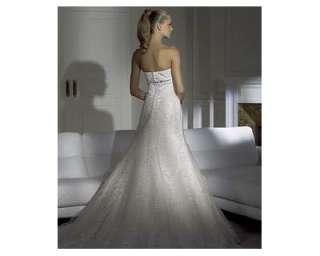 Características del anuncio Vestido de novia con velo